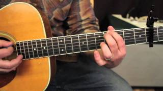 Mumford and Sons - The Cave - How to play on guitar - guitar lessons - tutorial