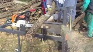 Механизмы для колки  дров (идеи Кулибиных)