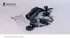 SAS-CLALIPC20 - IP-kamera Ulkokäyttöön Langaton asennus Android-järjestelmässä - FIN