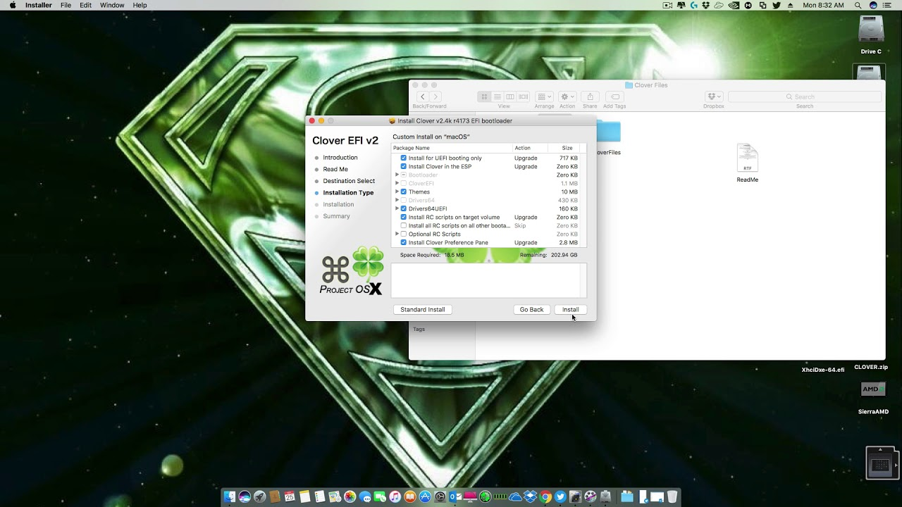 Install and Post Install of HighSierraAMD_V1 Official 10 13 1 - AMD OS X