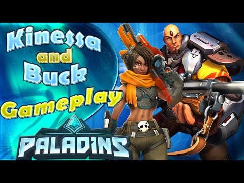 Kinessa and Triggerman Buck Gameplay - Payload - Paladins