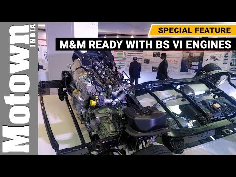 M&M is ready with BS VI engines | Special Feature | Motown India