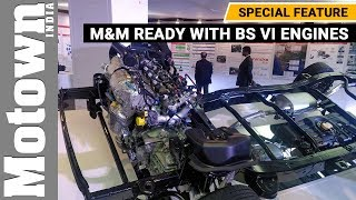 M&M is ready with BS VI engines