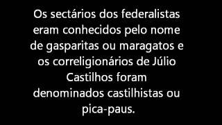 História - Revolução Federalista