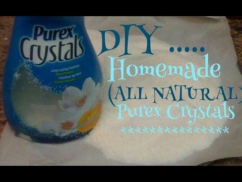 "D.I.Y. Homemade ""All Natural"" Purex Crystals.. *Kiwannas Kitchen*"