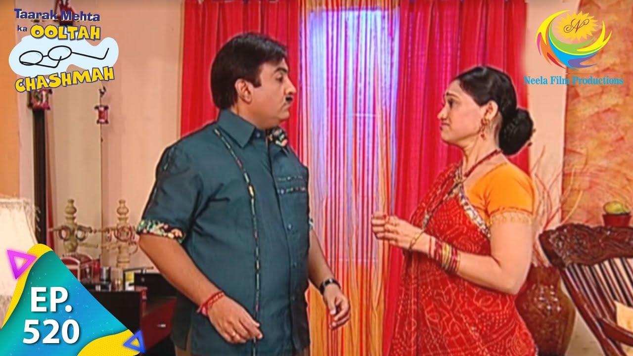 Download Taarak Mehta Ka Ooltah Chashmah - Episode 520 - Full Episode