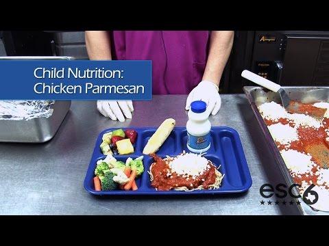 Child Nutrition: Chicken Parmesan