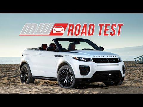2017 Range Rover Evoque Convertible | Road Test