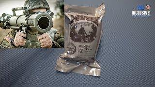 ИРП Армии США Меню 6 MRE MENU 6 BEEF TACO USA ARMY