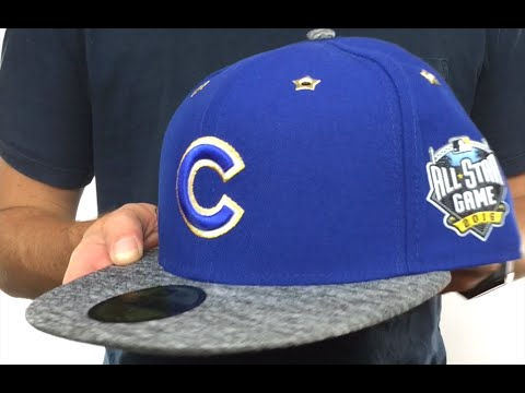 Cubs  2016 MLB ALL-STAR GAME  Fitted Hat by New Era - YouTube f3b20320d4d