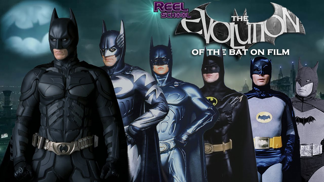 batman the evolution of the bat on film 19432012 youtube