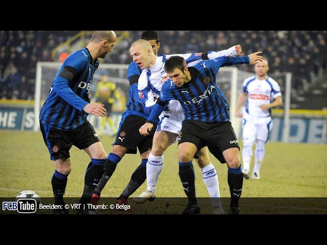 2008-2009 - Jupiler Pro League - 22. Club Brugge - Racing Genk 0-2