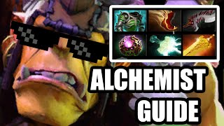 Dota 2 Reborn Guide - Alchemist ( Дота 2 гайд на Алхимика ) connected