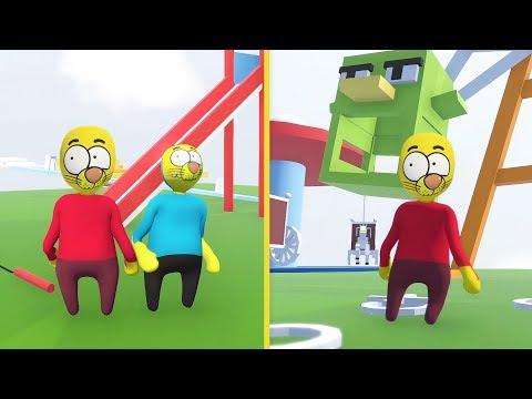 KRAL ŞAKİR KOMİK OYUN - Çizgi Film Oyun - Human Fall Flat