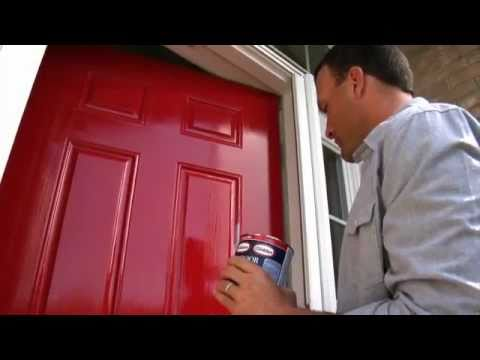 Glidden Trim Door Paint Dry Time Youtube