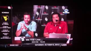 Bob Stoops faces angry bus driver on call-in show