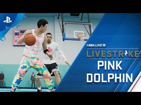 NBA LIVE - LIVESTRIKE - Earn Fly Gear from Pink Dolphin | PS4