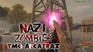 Cod Waw PC Custom Zombies on TMG Alcatraz Solo Live Commentary/Gameplay