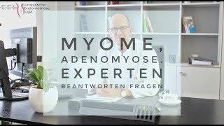 Myome und Adenomyose - Symptome, Diagnostik, Behandlung