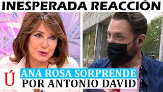 Ana Rosa deja a todos HELADOS con esta reacción al triunfo de Antonio David contra Sálvame