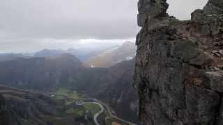 Trollveggen, Trollwall - Europe's tallest vertical rock wall