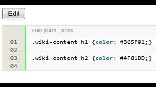 Правильный CSS в Confluence