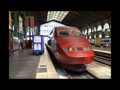 Les Gares Parisiennes: Gare de l'Est et Gare du Nord [HD]
