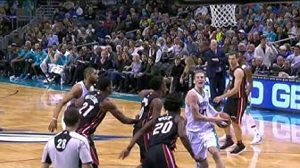 Miami Heat at Charlotte Hornets - December 29, 2016
