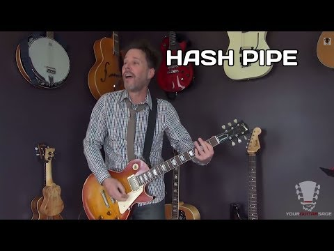 How To Play Hash Pipe Weezer - Guitar Lesson