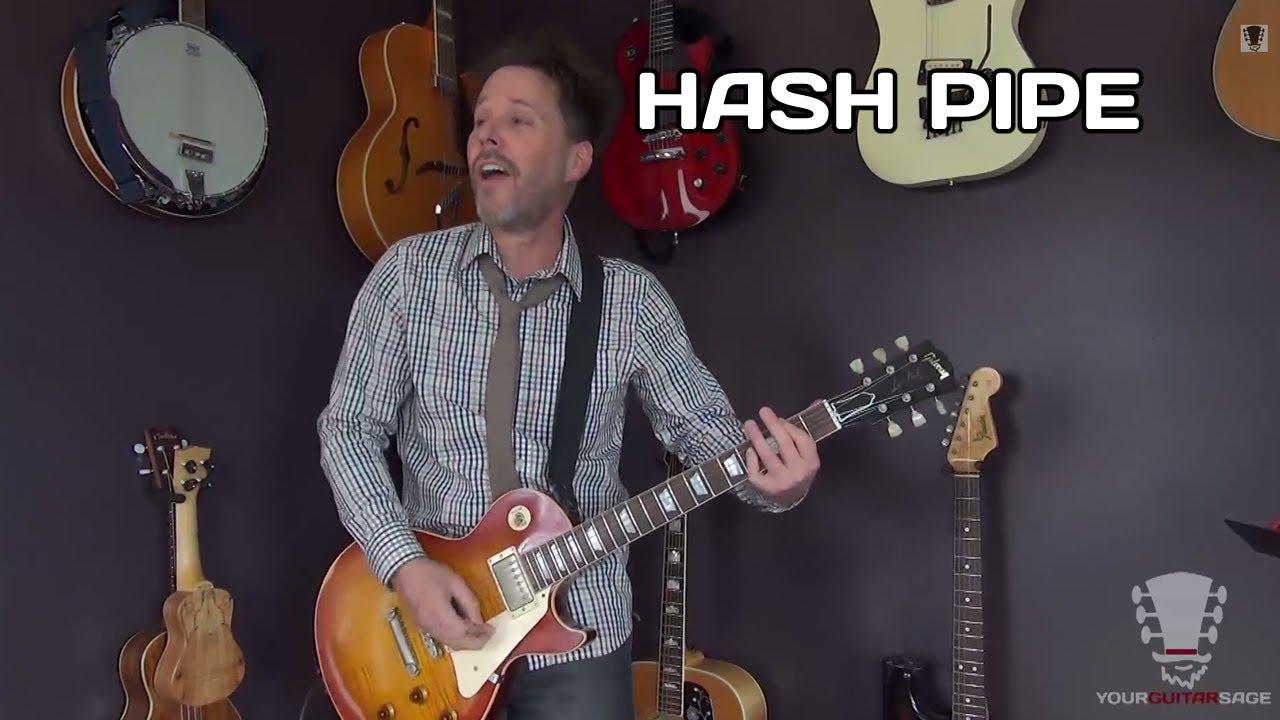 How To Play Hash Pipe Weezer Guitar Lesson Youtube