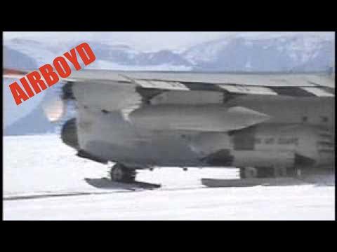 C-130 JATO Takeoff Antarctica