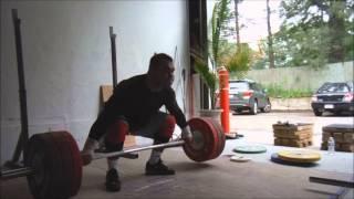 Vasiliy Polovnikov 195kg Hang Snatch