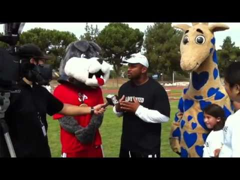 Lorenzo Neal, Timeout and George at Operation: Fresno Shape Up.rv