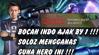 Bocah Indo Ajak By 1 !!! Soloz Mengganas Guna Hero ini !!! Soloz Gameplay Mobile Legends