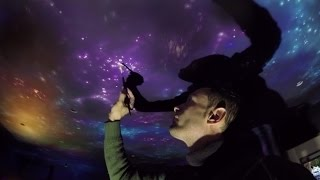 how to paint Night Sky Galaxy  Landscape / CEILING Mural
