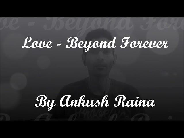 Poetry Entry | Ankush Raina | Hungerford, UK