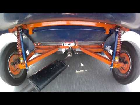 IOWCC  RUN 1 at COLLEGE 7-4-2013 Clip of anti-roll bar in action