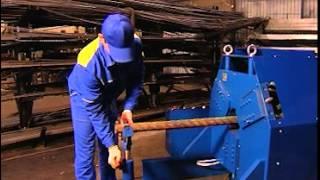 Станок для ковки изготовления витой трубы Ажур 4.vob