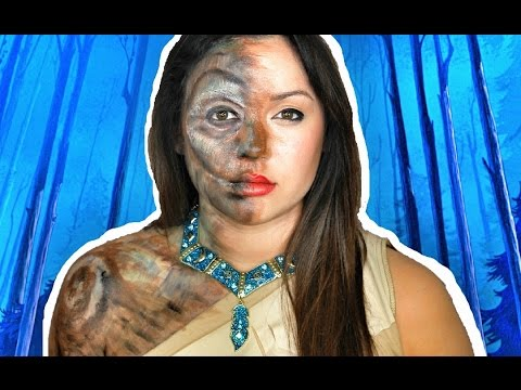 POCOHONTAS OLD WILLOW MAKEUP TUTORIAL