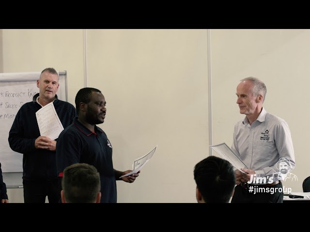 Welcome to our new Jim's franchise business owners - www.jims.net - 131 546