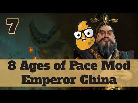 Civ 6 Modded China Ep. 7 - Let's Play Civ 6 Qin Shi Huang in the 8 Ages of Pace mod!