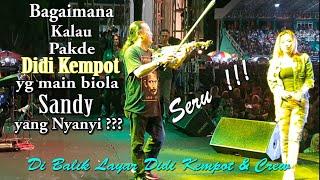 Download lagu Seru !!! Pakde Didi Kempot Main Biola Sandy yang nyanyi