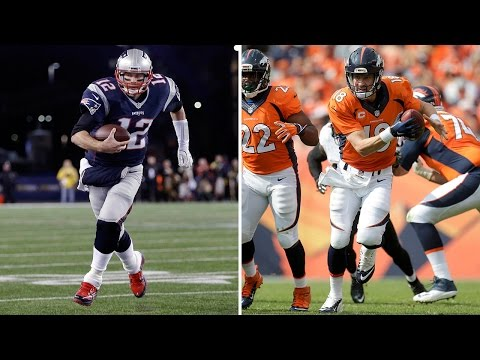Tom Brady vs. Peyton Manning: In Feats of Athleticism! | X