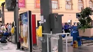 マルセイユ・サン・シャルル駅のホームへ20060618 Marseille-Saint-Charles