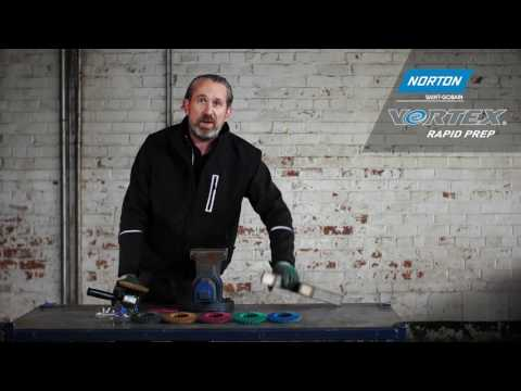Blending & Finishing Stainless Steel Using An Angle Grinder With Rapid Prep Flap Disc