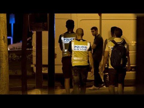 Van attacks in Barcelona and Cambrils linked to blast in Alcanar