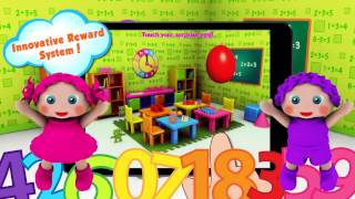 How to teach numbers to preschoolers with Preschool EduMath1 by Cubic Frog® Apps!