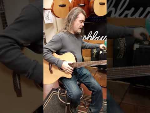 New Teton Acoustic Vs Fender Acoustic -does Unplugged Sound Change How Electronics Perform? Watch...