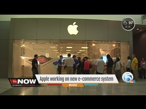 Apple working on new e-commerce system
