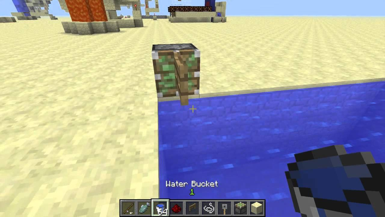How to make a bucket and how to use it in Maynkraft